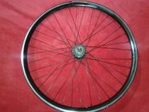 Roata bicicleta 28 fixie free 2 pinioane