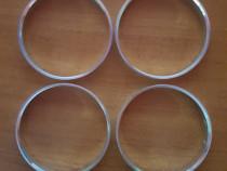 Inele centrare jante noi din aluminiu 74.1-72.6 mm BMW