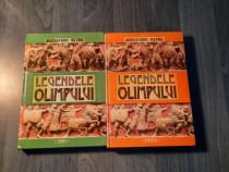 Legendele Olimpului zeii si eroii Alexandru Mitru 2 volume