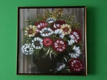 Tablou canvas cu flori.