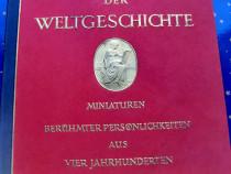 B651-Album vechi 1933-Miniaturile Personalitatilor faimoase.