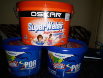 Vopsea lavabila de interior anti-mucegai Oskar si Spor