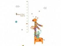 Sticker Decorativ, Masuratoare Cu Animalute 160 Cm, 121STK