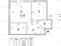 Lux, Apartament 2 camere decomandat, 65mp, Ghencea