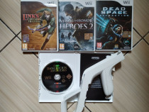 Wii: MOH, Links Crossbow, Dead Space, Dangerous Adv & Zapper