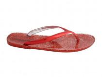Papuci Damă, MariaMare, Metalico Rojo, Mărimi 36-41