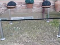 Masa cu blat de sticla securizata 2cm