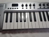 Clapa claviatura midi m-audio key studio 25