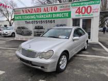 Mercedes-Benz C-Klasse,2.2Diesel,2002,Finantare Rate