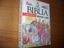 Biblia ilustrata pentru copii ( cartonata, ilustrata color )