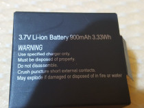 Baterie tip acumulator Li-ion - 900mah, 3.7V pt camere sport