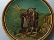"""Tablou – pictura pe lemn """"Costumes de basle"""""""