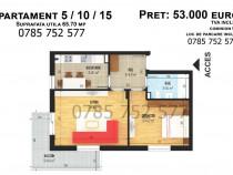 Apartament cu 2 camere, suprafata utila 65.70mp, Bragadiru