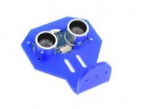 Senzor ultrasonic HC SR04 cu suport de prindere din plastic