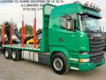 Camion forestier Scania R-520 an 2014+leasing de la 0 %
