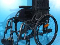 Scaun cu rotile din aluminiu Otto Bock / sezut 40 cm