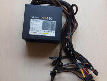 Sursa Corsair VS650 650W, PFC Activ