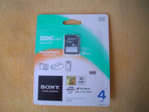 Card SONY 4Gb - sigilat
