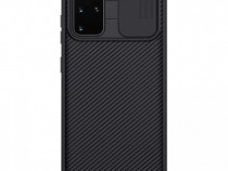 Husa telefon Silicon Samsung Galaxy S20+ g985 Black Camera
