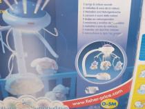 Carusel Fisher Price cu proiectie si telecomanda