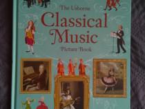 """Carte Usborne """"Classical music picture book"""""""
