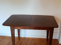 Masă/birou extensibil lemn masiv