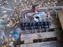 Chiulasa tractor fiat 311 315 cu injectoare și bujii tacheti