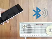 Montez interfata bluetooth pe dispozitive audio vintage