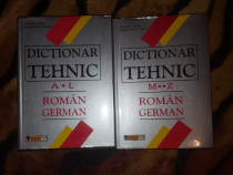 Dictionar tehnic roman - german 2 volume - Wilhelm Theiss