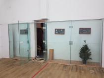 Perete geam (12 mm) sala Squash McWil-Courtwall