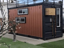 Construcții pe structuri metalice/containere