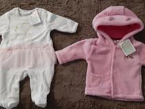 Hainute nou nascuti fete, gr. 56-62, noi cu eticheta