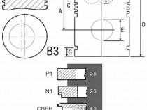 Piston si segmenti tractor Fiat 23/32-253