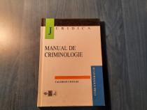 Manual de criminologie Valerian Cioclei