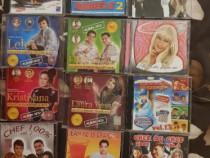 Cd-uri si MP3 muzica cu cate 2 Cd sau 2 Mp3 in carcasa.