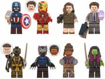 Set 8 Minifigurine tip Lego Marvel cu Black Panther + Gamora