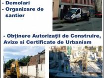 Demolari, Autorizatii pt demolare, Sapaturi