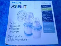 Philips AVENT pompa manuala pentru san cu biberon