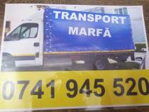 Efectuez transoprt national cu camion 5t cu prelată