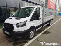 Ford Transit SCab + bena aluminiu, 2.0 - 130 CP RWD, MT6
