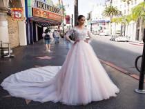 Rochie Pollardi Model Salma Culoare Roze