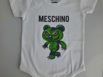 Body baby bebe alb 12 - 18 luni Tshirt Factory bumbac - Nou