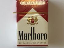 Pachet tigari de colectie Marlboro rosu scurt cartonat USA
