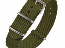 Curea ceas, nylon, model Nato, bratara material textil, lati