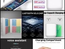 Casti airpods I7 I11 I12 fara fir bluetooth wireless samsung