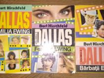 Seria 3 carti Dallas de Burt Hirschfeld