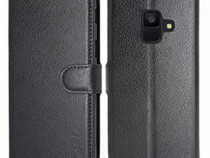 Husa Telefon Wallet Case Samsung Galaxy A6 2018 a600 Black