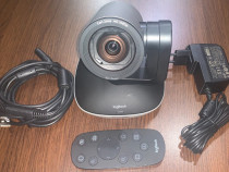 Camera Logitech PTZ Pro 2 -video chat, conferinta, streaming