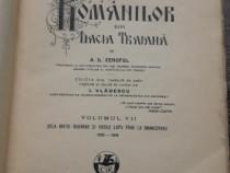 Carte veche a d xenopol istoria romanilor volum sapte 1929