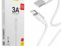 Cablu Date Apple iPhone Lightning 3A 1m Dudao PRODUS NOU